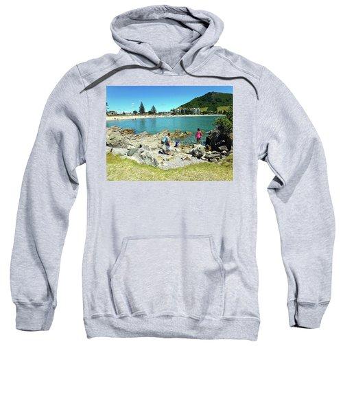 Mount Maunganui Beach 12 - Tauranga New Zealand Sweatshirt