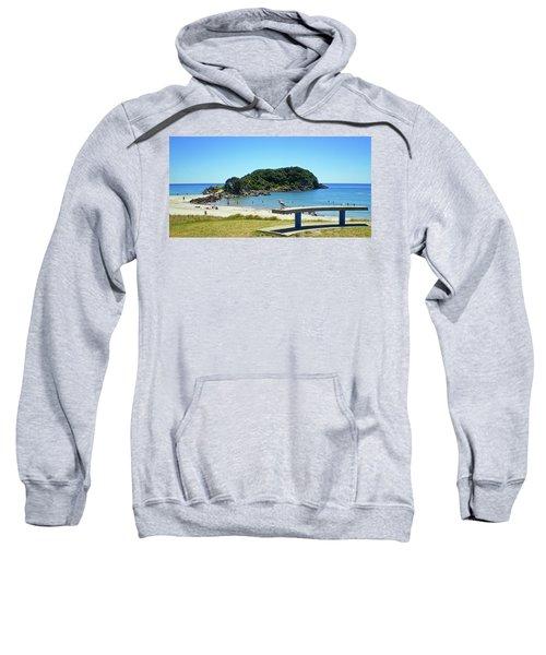 Mount Maunganui Beach 4 - Tauranga New Zealand Sweatshirt