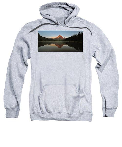 Mount Wilbur, Glacier National Park Sweatshirt