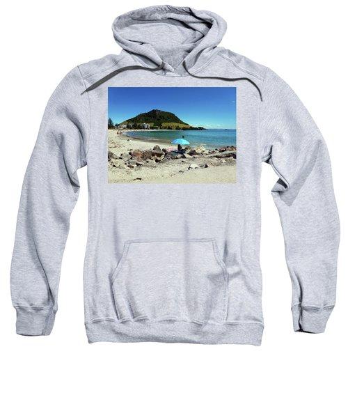 Mt Maunganui Beach 5 - Tauranga New Zealand Sweatshirt