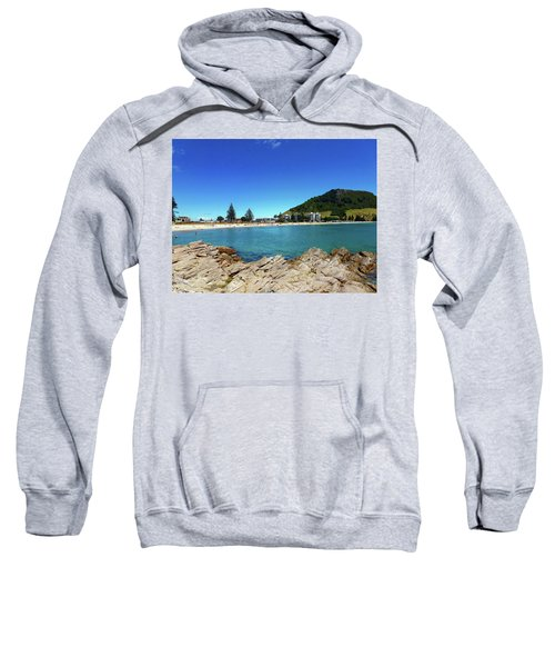 Mt Maunganui Beach 9 - Tauranga New Zealand Sweatshirt
