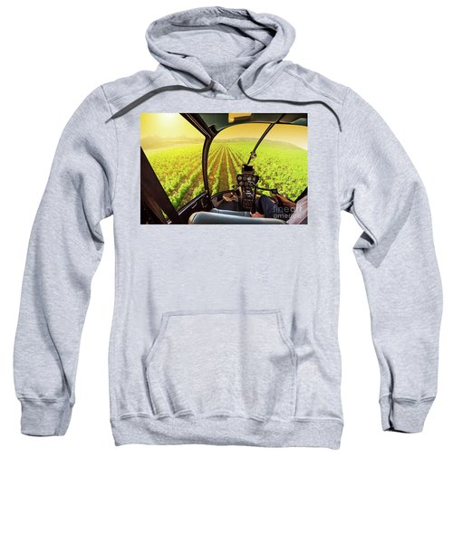 Napa Valley Scenic Flight Sweatshirt