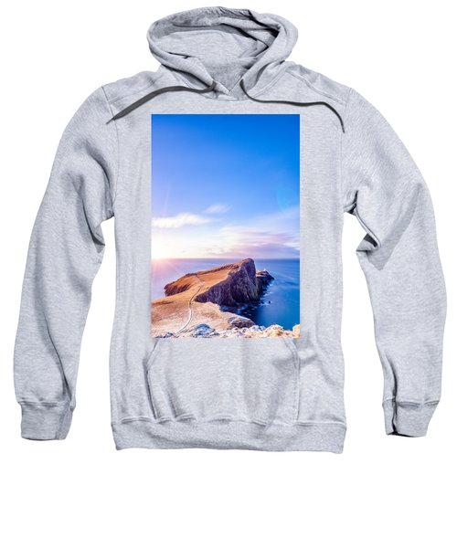 Neist Point Lighthouse At Dawn Sweatshirt