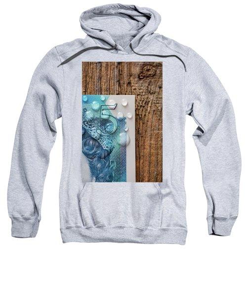 New Uk Five Pound Note Sweatshirt