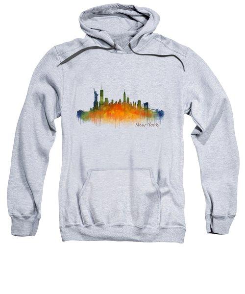 New York City Skyline Hq V02 Sweatshirt