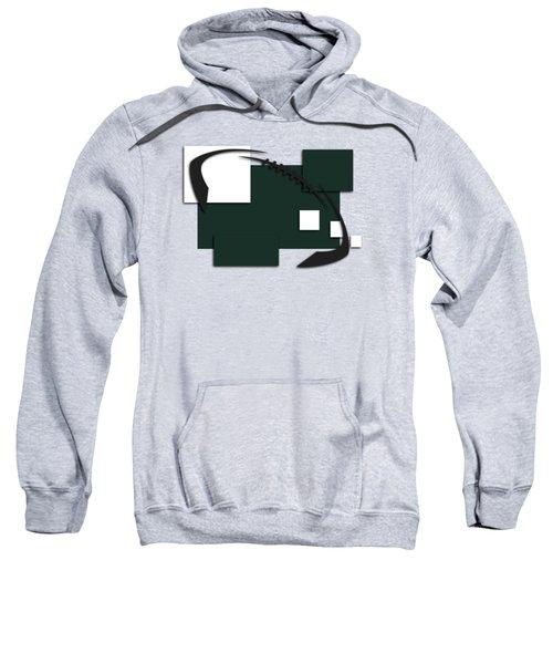 New York Jets Abstract Shirt Sweatshirt by Joe Hamilton
