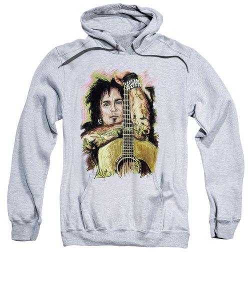 Nikki Sixx Sweatshirt by Melanie D