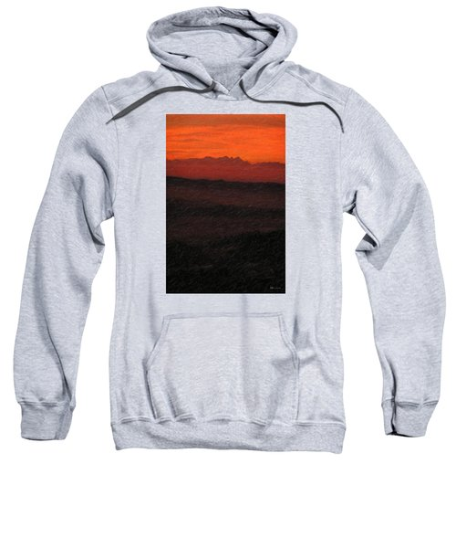 Not Quite Rothko - Blood Red Skies Sweatshirt