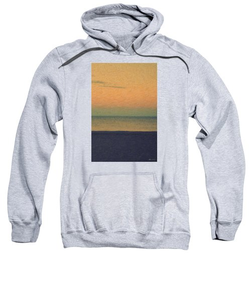 Not Quite Rothko - Breezy Twilight Sweatshirt by Serge Averbukh
