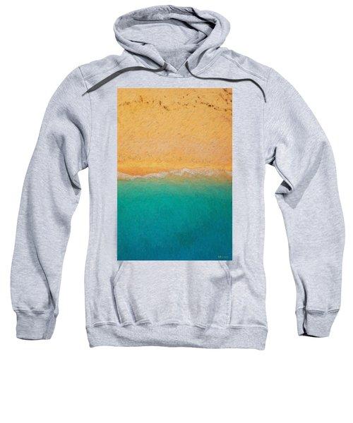 Not Quite Rothko - Surf And Sand Sweatshirt