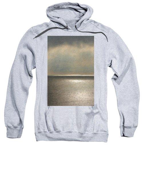 Not Quite Rothko - Twilight Silver Sweatshirt