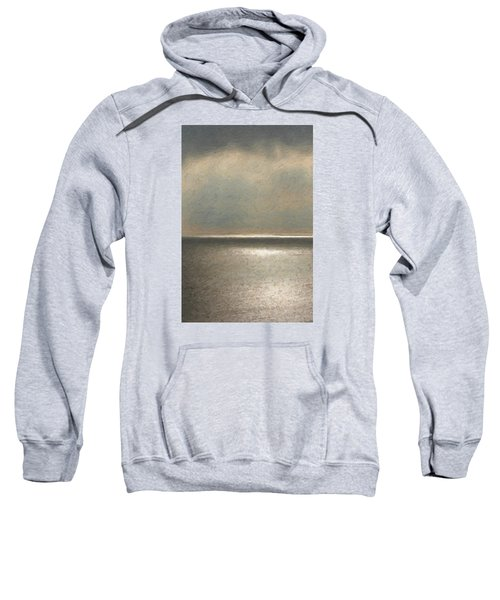 Not Quite Rothko - Twilight Silver Sweatshirt