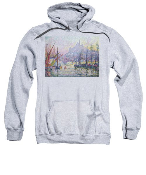 Notre Dame De La Garde, La Bonne Mere, Marseilles Sweatshirt