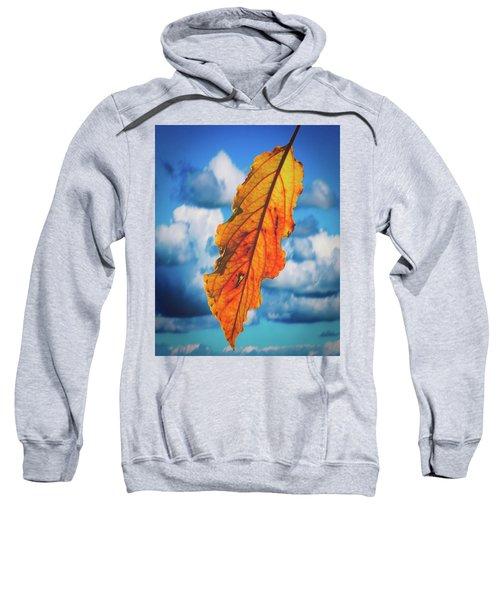 October Leaf B Fine Art Sweatshirt