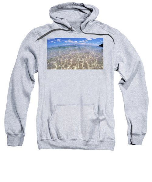 Sweatshirt featuring the photograph On The Horizon by Debbie Cundy