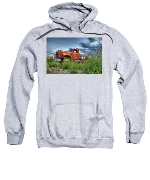 Orange Truck Sweatshirt