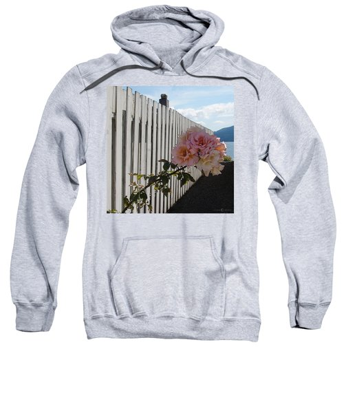 Orcas Island Rose Sweatshirt