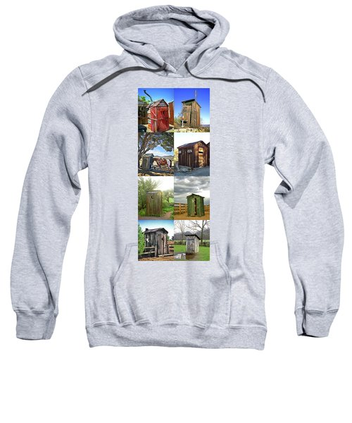 Outhouse Panel Vertical Sweatshirt