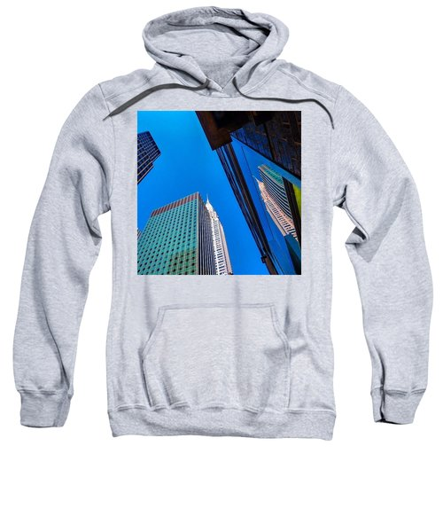 Photoshopping #tbt #nyc Summer Of 2013 Sweatshirt