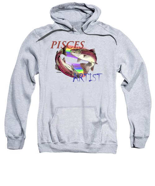 Pisces Artist Sweatshirt by Joseph Juvenal