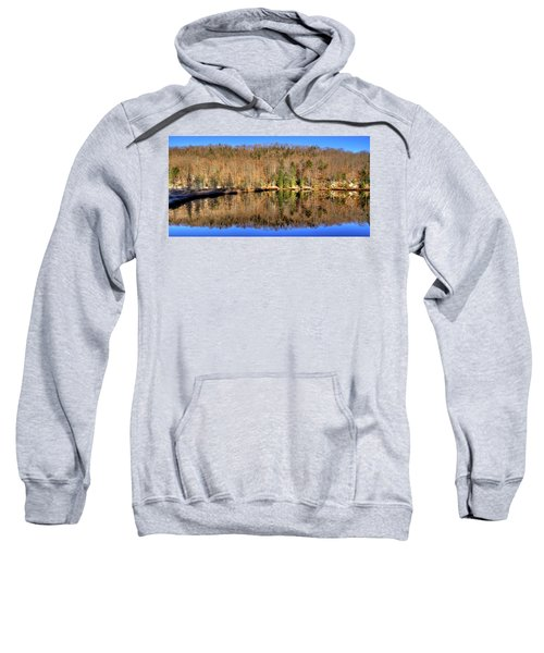 Sweatshirt featuring the photograph Pond Reflections by David Patterson