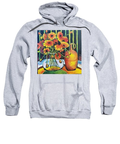 Pretty Poppies Sweatshirt