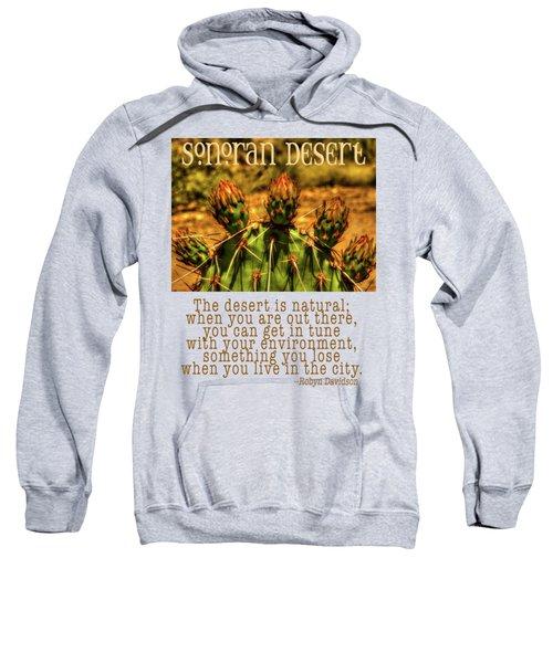 Prickly Pear Cactus Sweatshirt