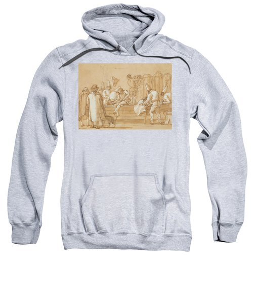 Punchinello As Tailor's Assistant Sweatshirt