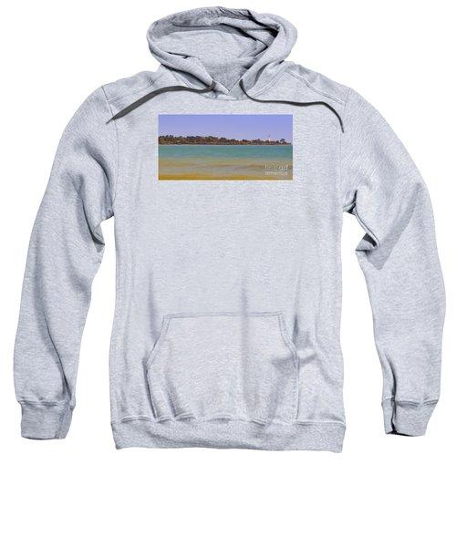 Sweatshirt featuring the photograph Racine Lakefront by Ricky L Jones