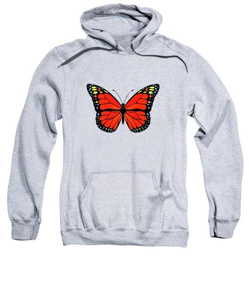 Red Butterfly Sweatshirt