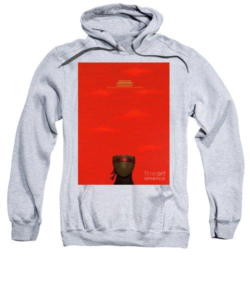 Red Impression Sweatshirt