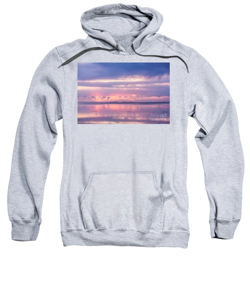 Reflections At Sunset In Key Largo Sweatshirt