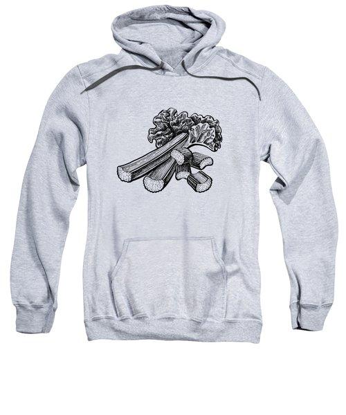 Rhubarb Stalks Sweatshirt