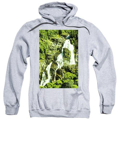 Rocky Mountain Waterfall Sweatshirt