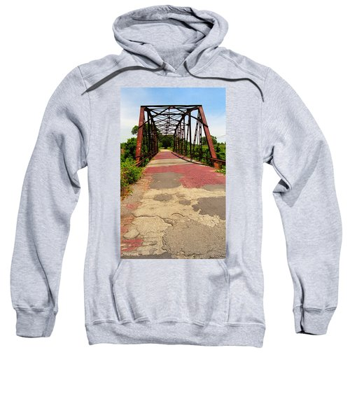 Route 66 - One Lane Bridge Sweatshirt