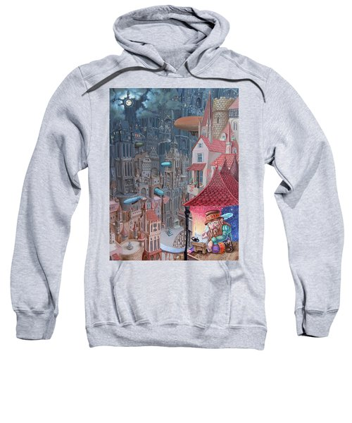 Saga Of The City Of Zeppelins Sweatshirt