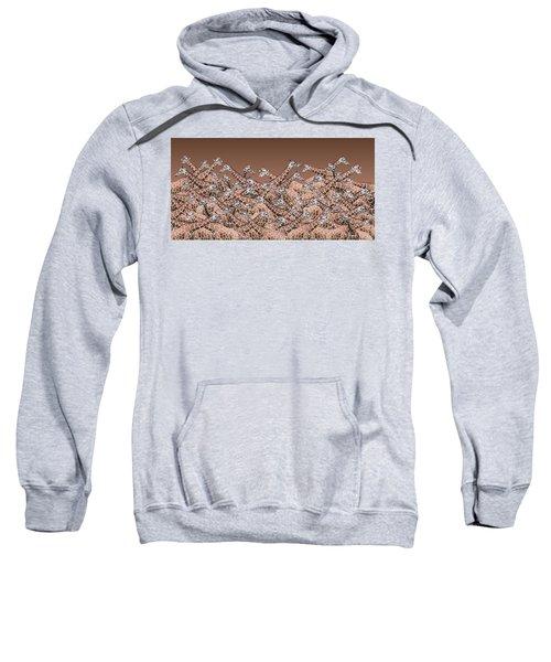 Sea Of Giraffes Sweatshirt