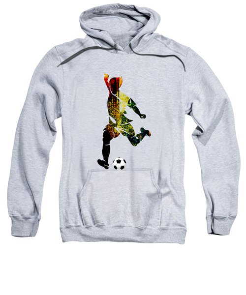 Soccer Collection Sweatshirt by Marvin Blaine