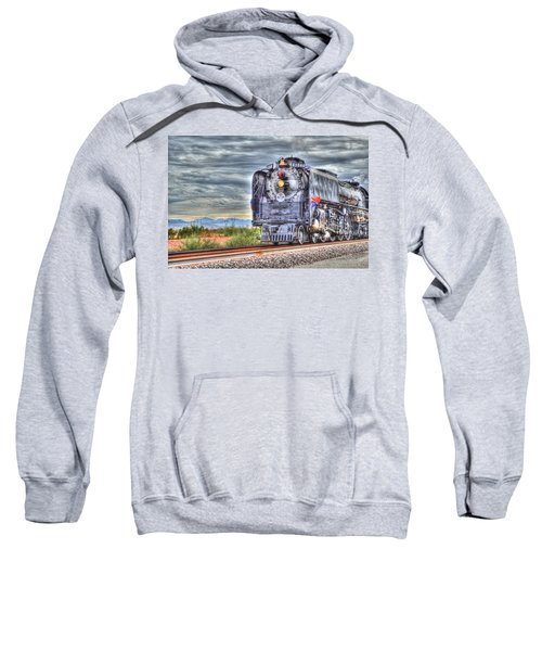 Steam Train No 844 Sweatshirt