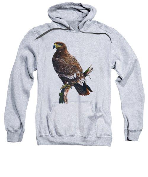 Steppe-eagle Sweatshirt by Anthony Mwangi