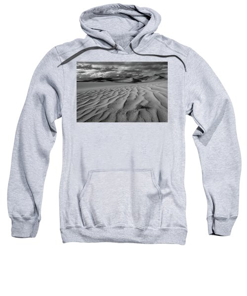 Storm Over Sand Dunes Sweatshirt