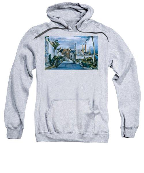 Street In Quebec Sweatshirt