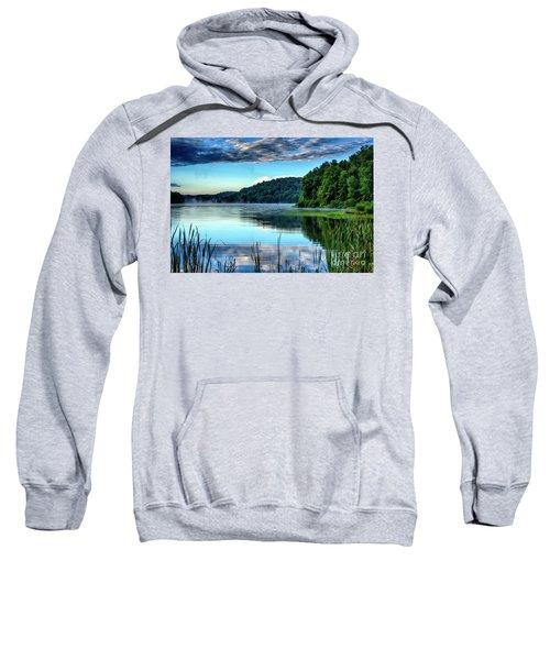 Summer Morning On The Lake Sweatshirt