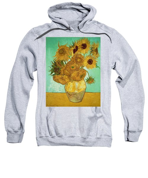 Sunflowers By Van Gogh Sweatshirt