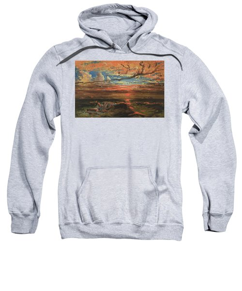Sunset At Sea After A Storm Sweatshirt