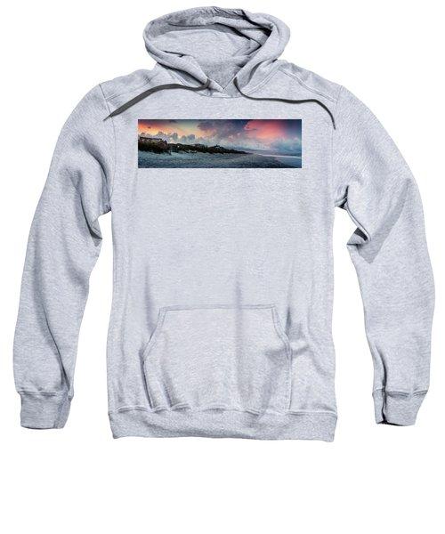 Sunset Emerald Isle Crystal Coast Sweatshirt