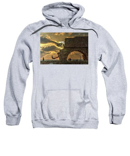 Sunset Over The Mediterranean 2 Sweatshirt