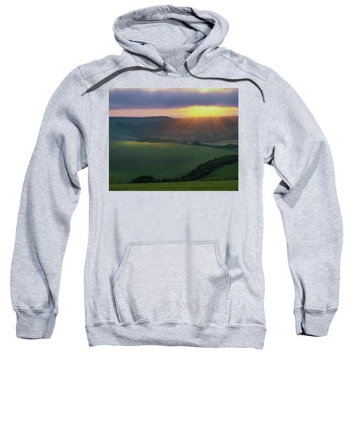 Sunset Over The South Downs Sweatshirt
