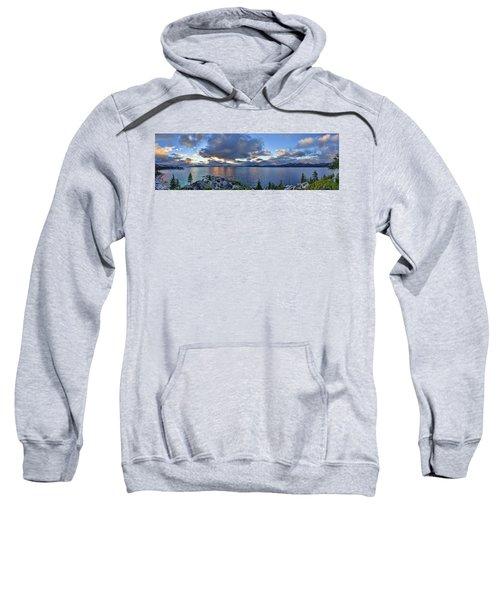 Tahoe Sunset Panorama Sweatshirt