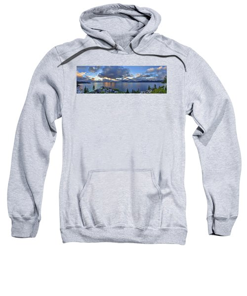 Tahoe Sunset Panorama Sweatshirt